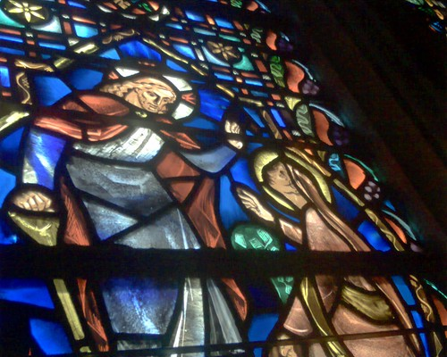 Stained Glass at First Baptist DC