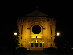 St. Boniface Cathedral - night