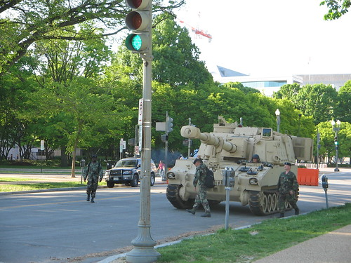 Tanks and Fighter Jets on the Mall