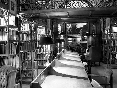Andrew White Reading Room - 5 -bw