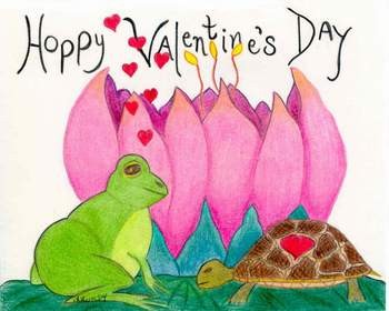 Hoppy Valentine's Day