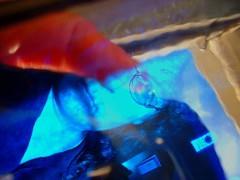 thru a glass darkly self portrait