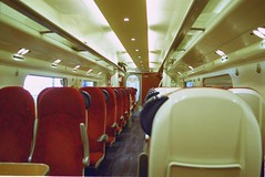 Train interior - Virgin Pendolino