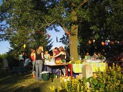 IMG_1363 unsere Abschieds-Gartenparty - rund um den Birnbaum