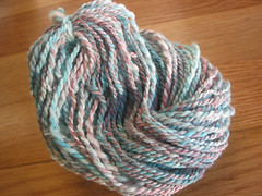 35: food coloring dyed merino