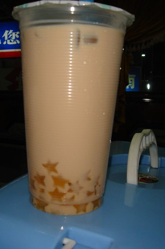 Milk Tea with Star Gels