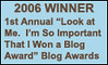 The Best Blog Award