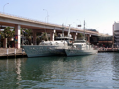 HMA Ships Armidale and Townsville