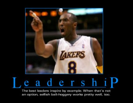 Kobe Arrogance