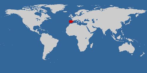 Cuántos países!!