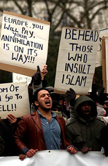 Danish protest