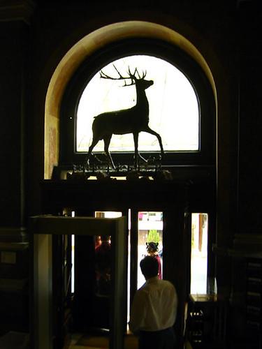 hotel pera palas front door