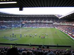 Scotland versus Italy 6 nations 2005 at Murrayfield Stadium, Edinburgh