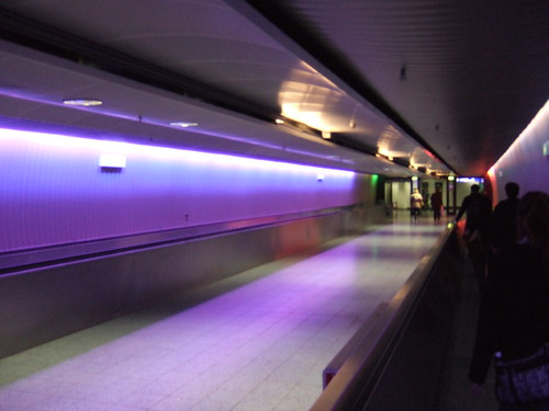 法蘭克福的機場長廊