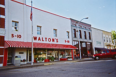The first Walmart was in Arkansas
