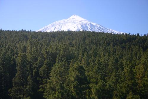 El Teide (3718m) rising majestically