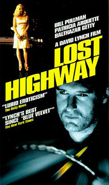 Cartel Carretera Perdida de David Lynch Lost Highway