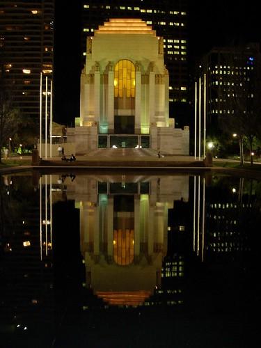 Anzac Memorial at Night