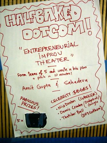 Entrepreneurial Improv Theater