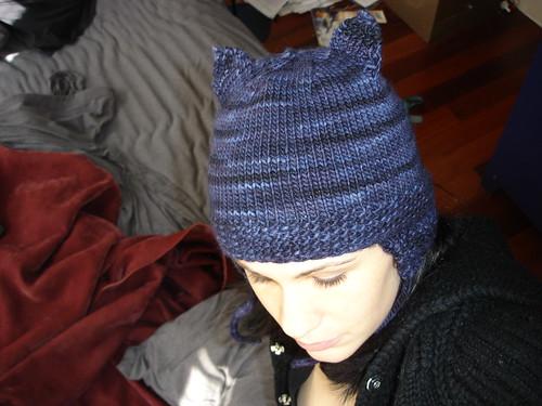 cat-ear hat