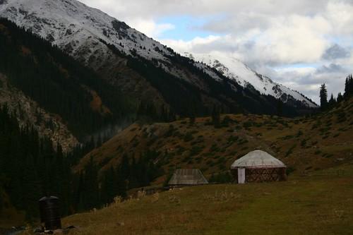 Altyn Arshan, Eastern Kyrgyzstan.