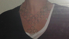 Halsband med ringar.