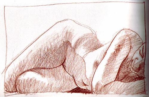 naked drawing