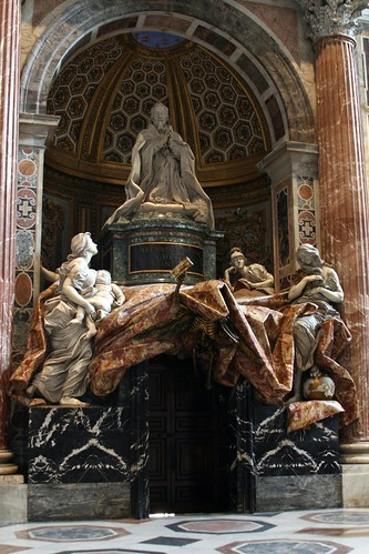 Bernini's Monument to Pope Alexander the 7th