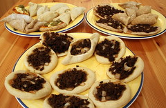 Arabic Sfeha (Mince Meat Pastries)