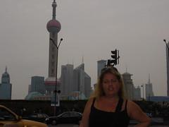 Sarah in Nanjing Road