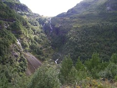 View from the Flåm Railway