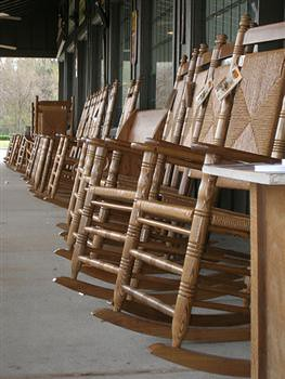 Rocking chair row