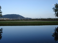 Kessock Bridge from Caledonian Canal