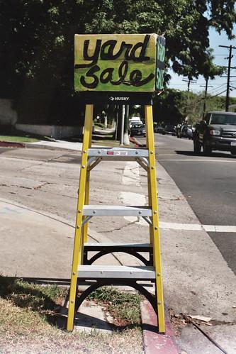 yard sale ladder