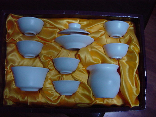 my tea set