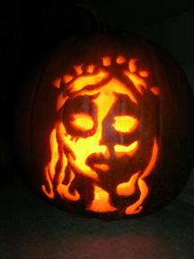 My Corpse Bride Pumpkin - 2006