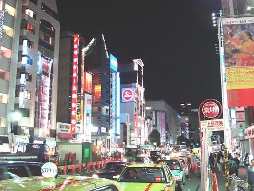 ueno night