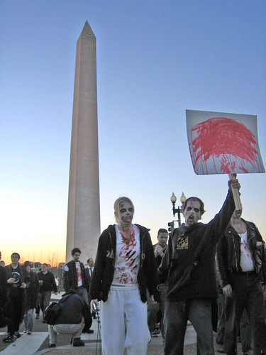 Zombies at the Washington Monument