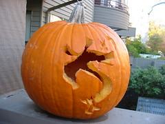 Trogdor pumpkin
