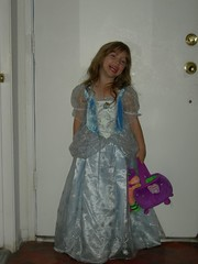 Cinderella ready for Trick or Treat!