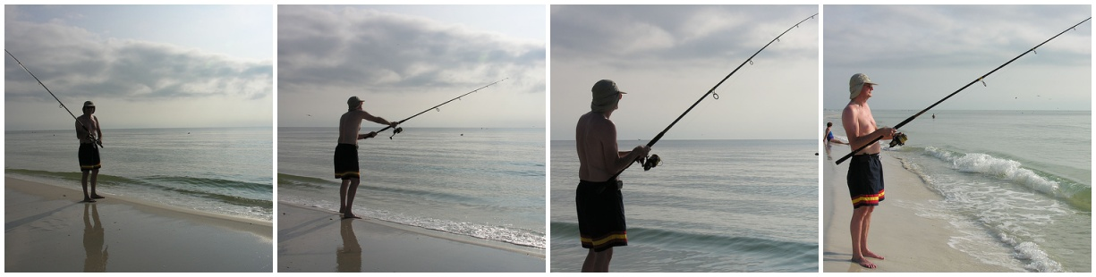 Jim surf fishing on cape san blas view larger static for Cape san blas fishing report