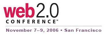 Web2.0 Summit - Nov7-9,2k6 poster