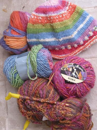 italy yarn stash