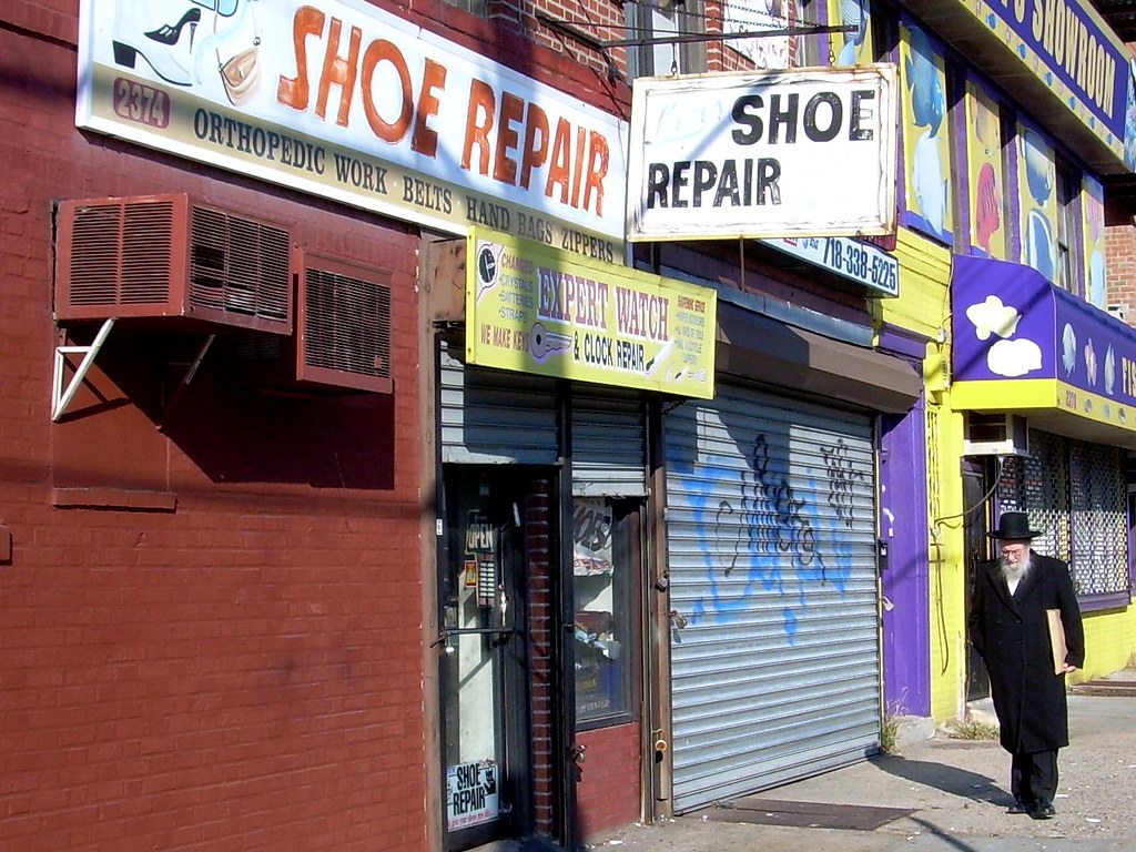 shoe repair, midwood