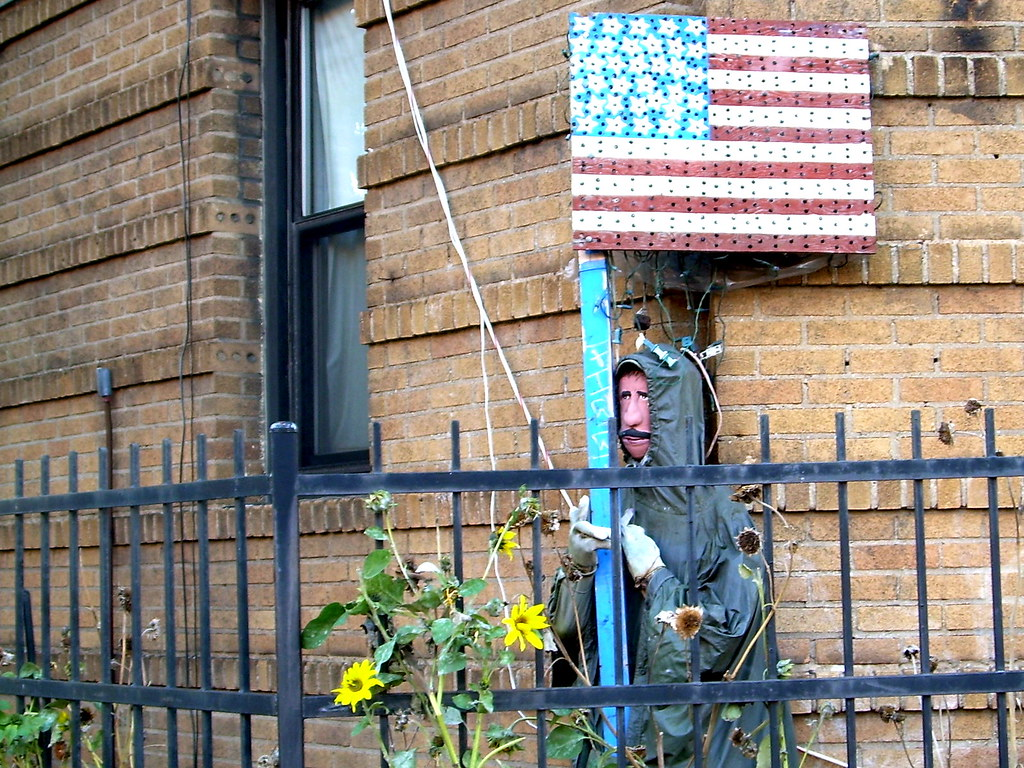 flag man, midwood