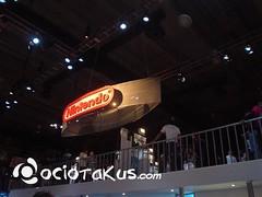 El booth de Nintendo desde el inmundo primer piso