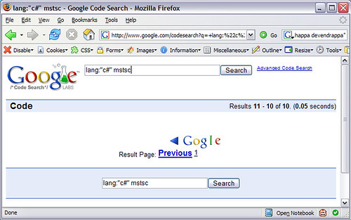 google-code-search-bug-page-1