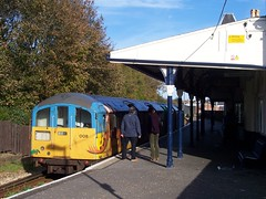 Island Line train at Shanklin Station