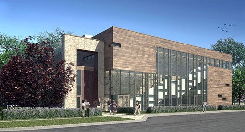 Artist Rendering of New JRC Building