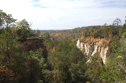 Providence Canyon, From Overlook